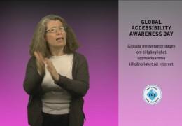 Projekt Accola – Globala dagen för tillgänglighetsmedvetande