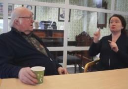 Dövhistoriska Sällskapets mål och planer – kort intervju