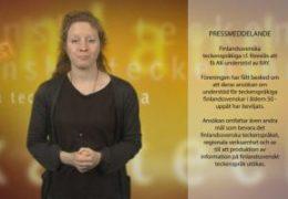 Pressmeddelande om RAY AK understöd - Magdalena Kintopf-Huuhka