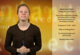 Medlemsträff 18.2 - Magdalena Kintopf-Huuhka