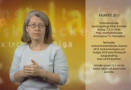 Årsmöte 17.3 - Lena Wenman