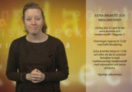 Extra årsmöte och medlemsträff - Magdalena Kintopf-Huuhka