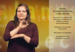 Info om 15 års jubileum - Maja Andersson