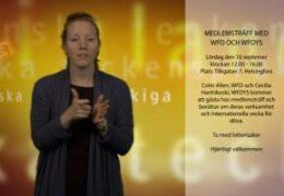 Medlemsträff med WFD och WFDYS - Magdalena Kintopf-Huuhka