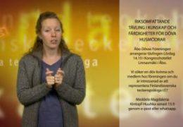Riksomfattande tävling för döva husmödrar - Magdalena Kintopf-Huuhka