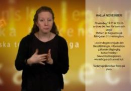 Hallå November - Magdalena Kintopf-Huuhka