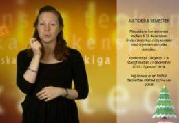 Jultider och semester - Magdalena Kintopf-Huuhka